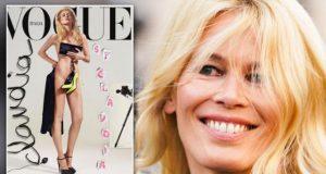 Claudia Schifferon Vogue